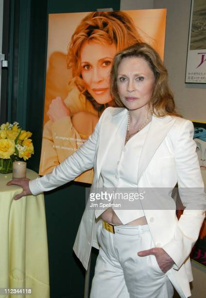 Faye Dunaway during A Celebration For Faye Dunaway On The Occasion Of Her Writing Directorial Debut Film 'The Yellow Bird' at Walter Reade Theater At...