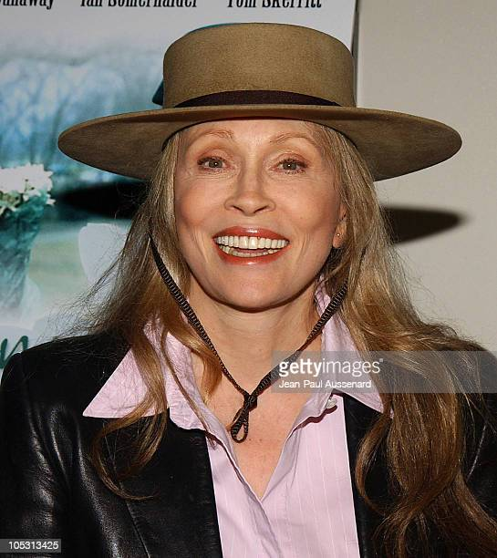 Faye Dunaway during 'Changing Hearts' Premiere at ArchLight Cinemas in Hollywood California United States
