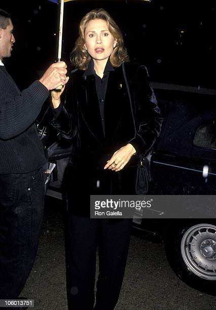 Faye Dunaway during Party for Sir Anthony Hopkins March 28 1993 at Ed Limato's House in Universal City California United States