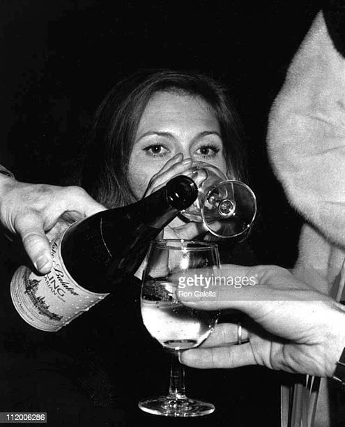 Faye Dunaway during 'The Towering Inferno' New York City Premiere Party December 18 1974 at Four Seasons Hotel in New York City New York United States