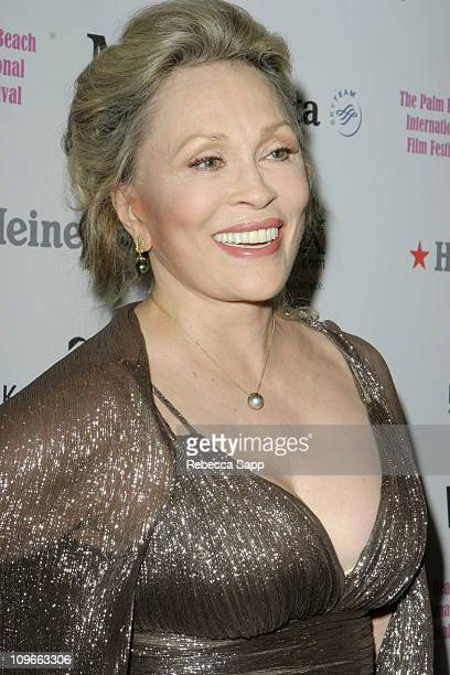 Faye Dunaway Golden Palm Award Recipient during 11th Annual Palm Beach International Film Festival Awards Gala at Boca Raton Resort and Club in Palm...