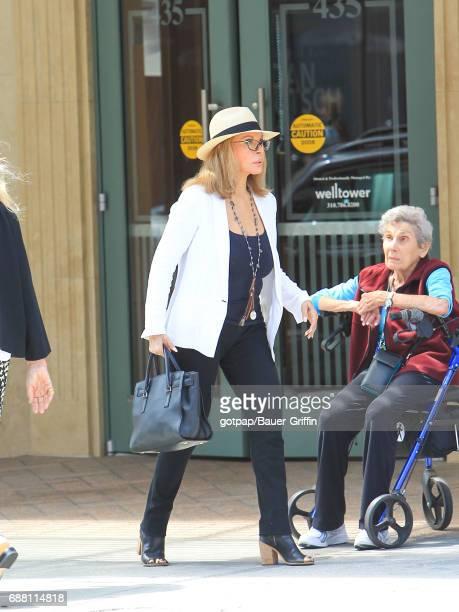 Faye Dunaway is seen on May 24 2017 in Los Angeles California