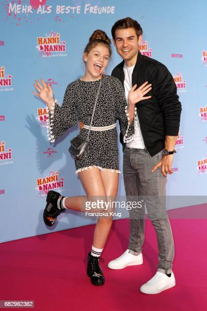 Faye Montana and Lucas Reiber during the premiere of the film 'Hanni Nanni Mehr als beste Freunde' at Kino in der Kulturbrauerei on May 14 2017 in...