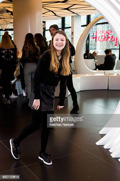 Faye Montana attends the 'LECK MICH AM HASHTAG' brunch during MercedesBenz Fashion Week Berlin A/W 2017 on January 19 2017 in Berlin Germany