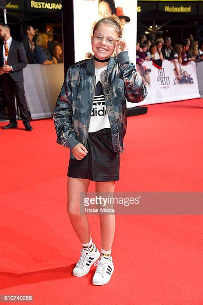 Faye Montana attends the 'Unsere Zeit ist jetzt' World Premiere at CineStar on September 27 2016 in Berlin Germany