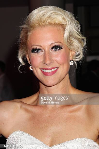 Faye Tozer attends 'The TailorMade Man' press night after party at the Haymarket Hotel on January 21 2013 in London England