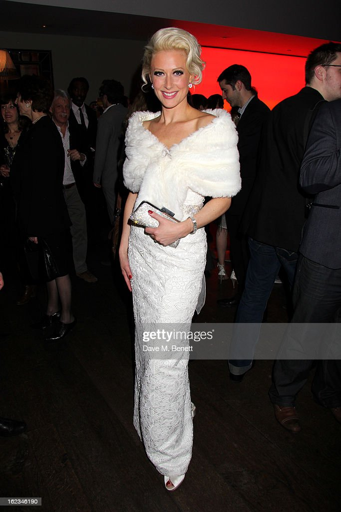 <a gi-track='captionPersonalityLinkClicked' href=/galleries/search?phrase=Faye+Tozer&family=editorial&specificpeople=206566 ng-click='$event.stopPropagation()'>Faye Tozer</a> attends 'The Tailor-Made Man' press night after party at the Haymarket Hotel on January 21, 2013 in London, England.