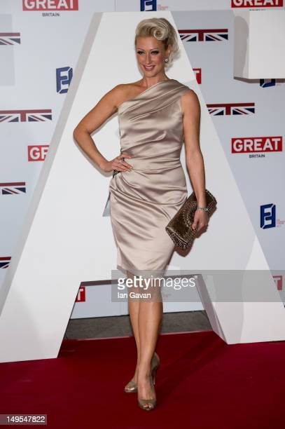 Faye Tozer attends the UK's Creative Industries Reception at the Royal Academy of Arts on July 30 2012 in London England