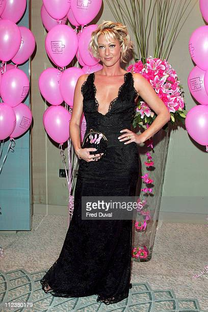 Faye Tozer during 11th Annual Pink Ribbon Ball at The Dorchester in London Great Britain