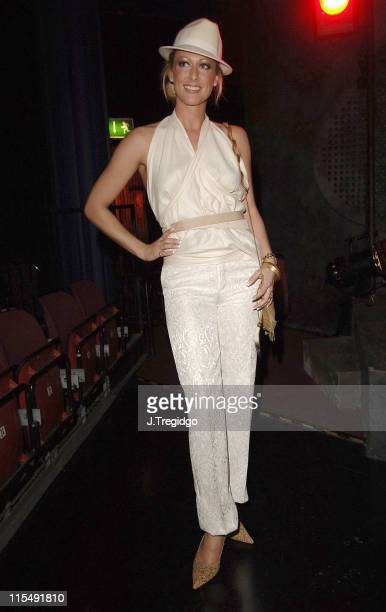 Faye Tozer during 'Saucy Jack and the Space Vixens' Party December 6 2005 at The Venue in London Great Britain