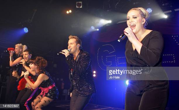 Faye Tozer Lee LatchfordEvans Lisa ScottLee Ian 'H' Watkins and Claire Richards of Steps perform at GAY on March 17 2012 in London England