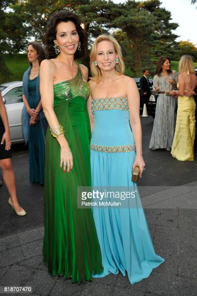 Fe Fendi and Gilian Miniter attend THE CONSERVATORY BALL at The New York Botanical Garden on June 3 2010 in New York City