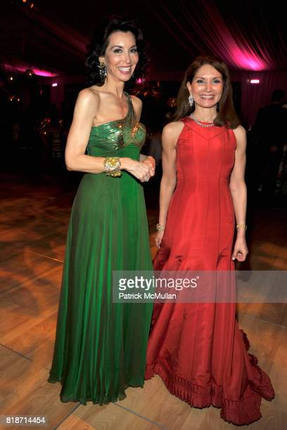 Fe Fendi and Jean Shafiroff attend THE CONSERVATORY BALL at The New York Botanical Garden on June 3 2010 in New York City