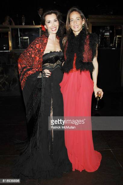 Fe Fendi and Marcia Mishaan attend EL MUSEO'S 2010 Annual Gala at Cipriani 42nd Street on May 27th 2010 in New York City