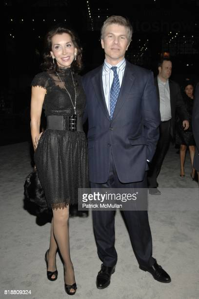 Fe Fendi and Peter Bacanovic attend EAST SIDE HOUSE SETTLEMENT Gala Preview of the 2010 NEW YORK INTERNATIONAL AUTO SHOW at Javits Center on April 1...