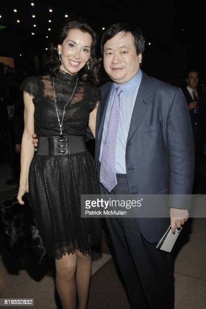Fe Fendi and Phil Yang attend EAST SIDE HOUSE SETTLEMENT Gala Preview of the 2010 NEW YORK INTERNATIONAL AUTO SHOW at Javits Center on April 1 2010...