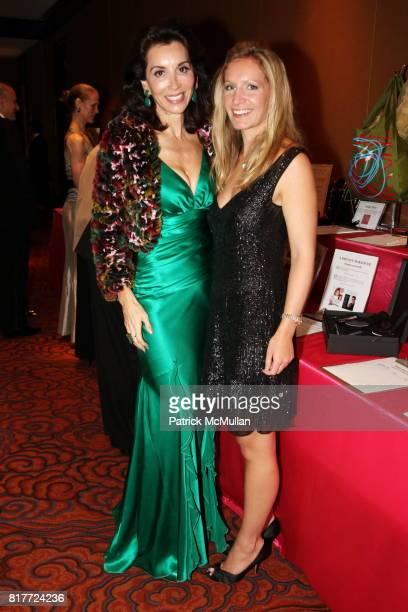 Fe Fendi and Sabrina Wirth attend Casita Maria Fiesta 2010 at Mandarin Oriental Hotel on October 12 2010 in New York City