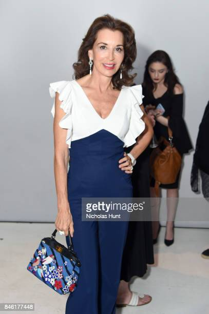 Fe Fendi attends the Chiara Boni La Petite Robe fashion show during New York Fashion Week The Shows at Gallery 3 Skylight Clarkson Sq on September 12...