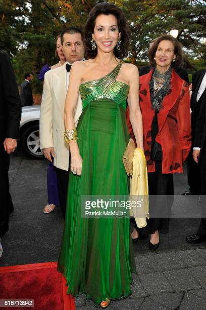 Fe Fendi attends THE CONSERVATORY BALL at The New York Botanical Garden on June 3 2010 in New York City