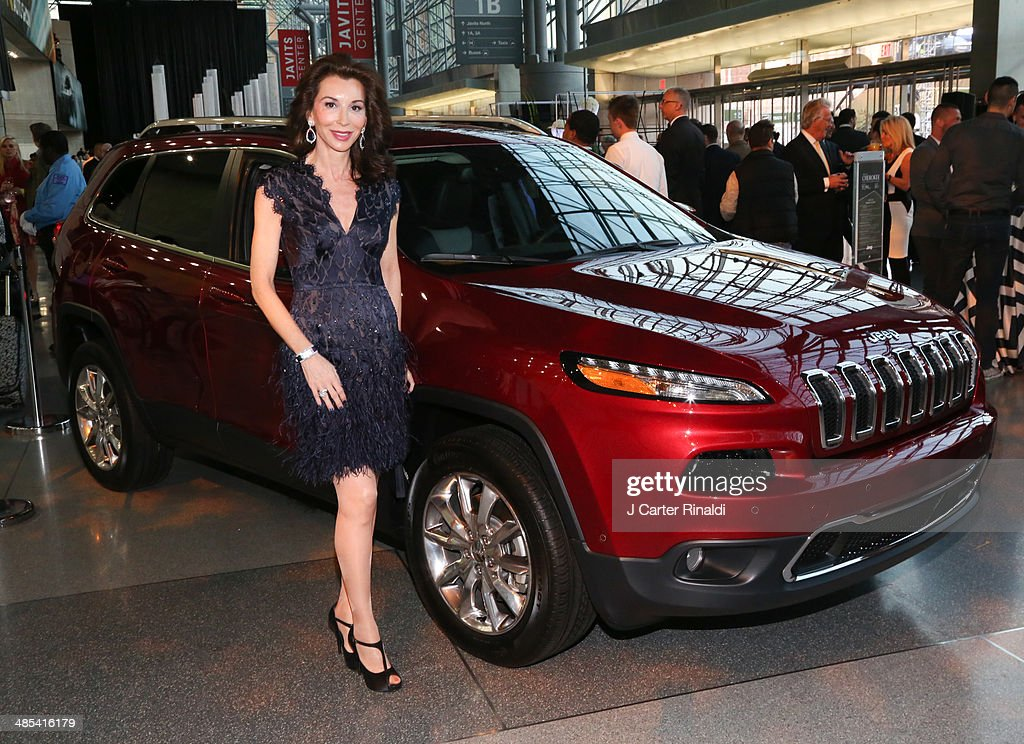 Fe Fendi attends the East Side House Gala Preview during the 2014 New York Auto Show at the Jacob Javits Center on April 17, 2014 in New York City.