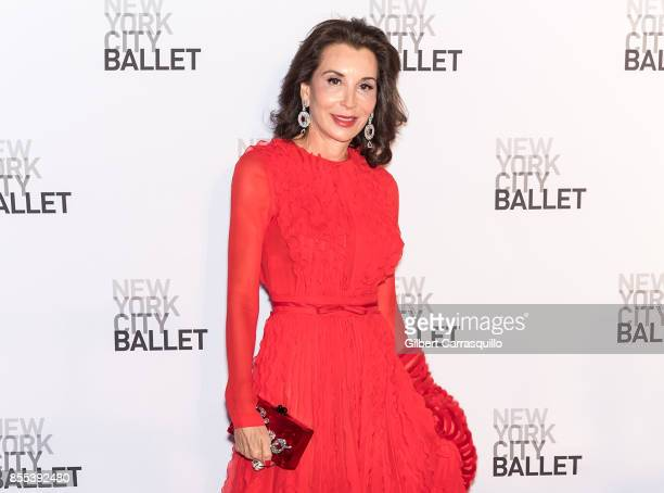 Fe Fendi attends the New York City Ballet's 2017 Fall Fashion Gala at David H Koch Theater at Lincoln Center on September 28 2017 in New York City