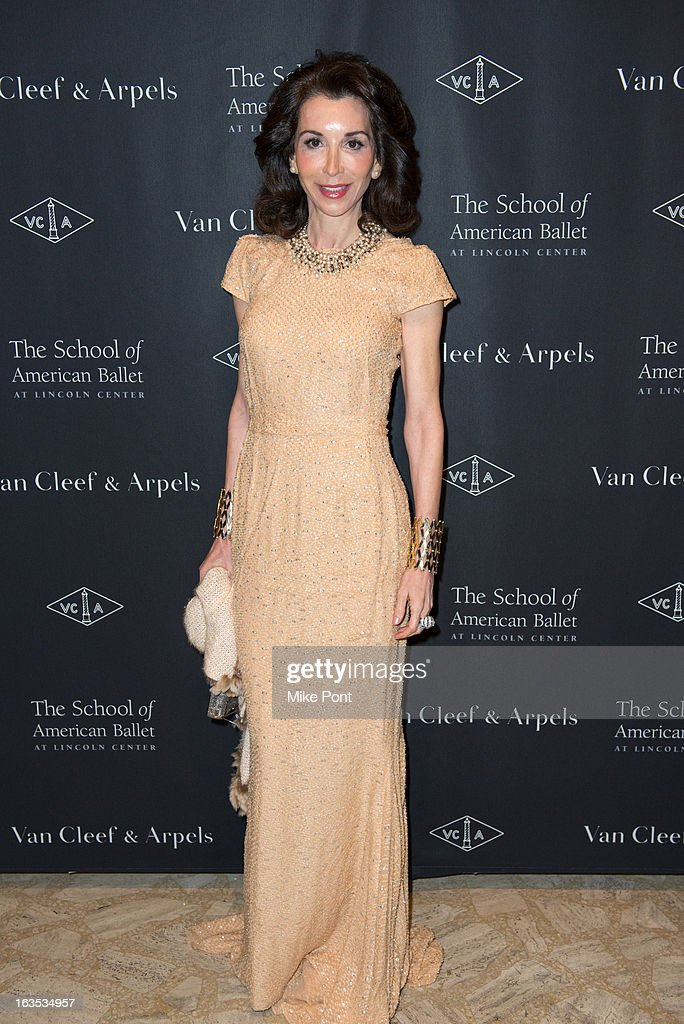 Fe Fendi attends the School of American Ballet 2013 Winter Ball at David H. Koch Theater, Lincoln Center on March 11, 2013 in New York City.
