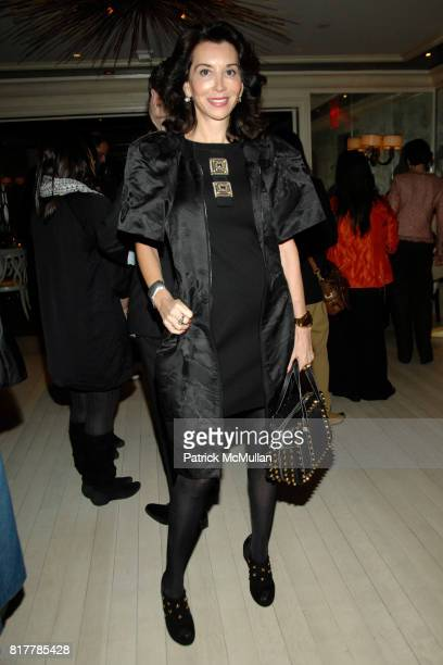 Fe Fendi attends WWD 100 Years 100 Designers Book Party at BG Restaurant on October 14 2010 in New York City