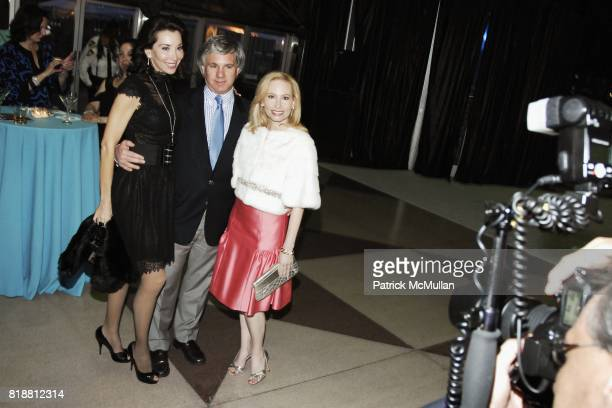 Fe Fendi Sylvester Miniter and Gillian Miniter attend EAST SIDE HOUSE SETTLEMENT Gala Preview of the 2010 NEW YORK INTERNATIONAL AUTO SHOW at Javits...