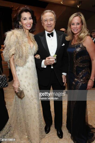 Fe Fendi Valentin Hernandez and Yaz Hernandez attend THE SCHOOL OF AMERICAN BALLET Winter Ball 2010 at David H Koch Theater on March 1 2010 in New...
