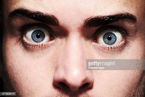 Angst in den Augen