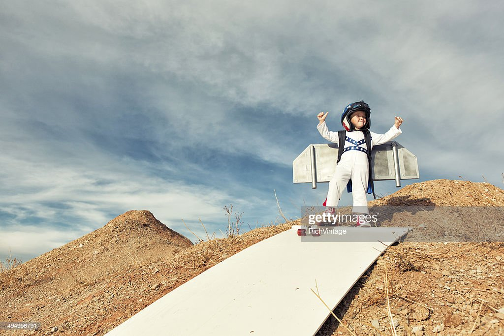 Fearless : Stock Photo