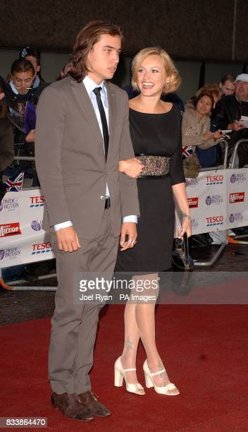 Fearne Cotton and guest arrive for the Pride of Britain Awards 2007 The London Studios Upper Ground London SE1