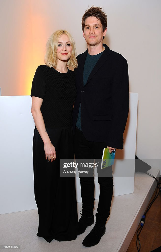 Fearne Cotton and Jesse Wood attend the Annual Schools auction dinner at Burlington House on March 25, 2014 in London, England.
