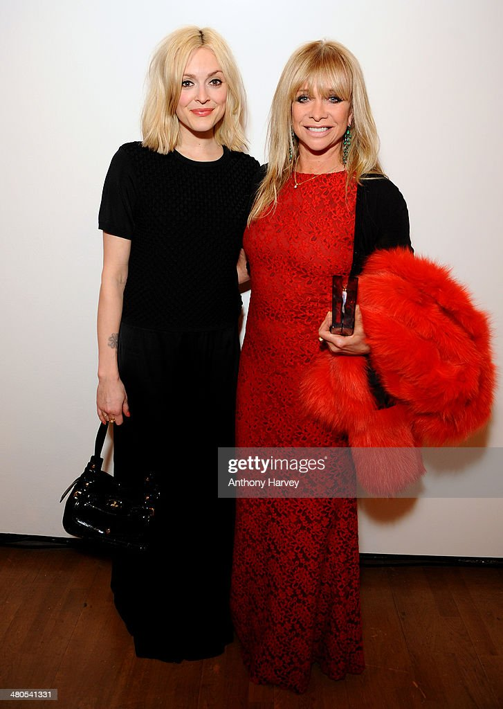 Fearne Cotton and Jo Wood attend the Annual Schools auction dinner at Burlington House on March 25, 2014 in London, England.
