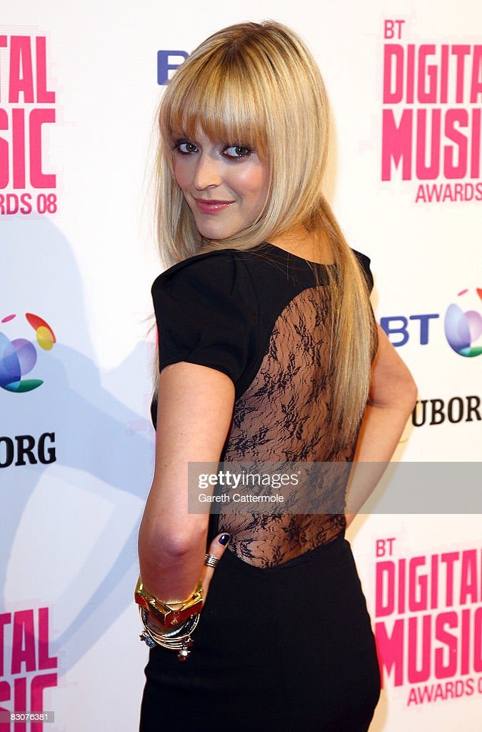 Fearne Cotton arrives at the BT Digital Music Awards 2008 at The Roundhouse on October 1 2008 in London England