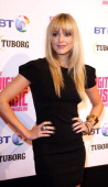 Fearne Cotton Arrives At The Bt Digital Music Awards 2008 At The Roundhouse London