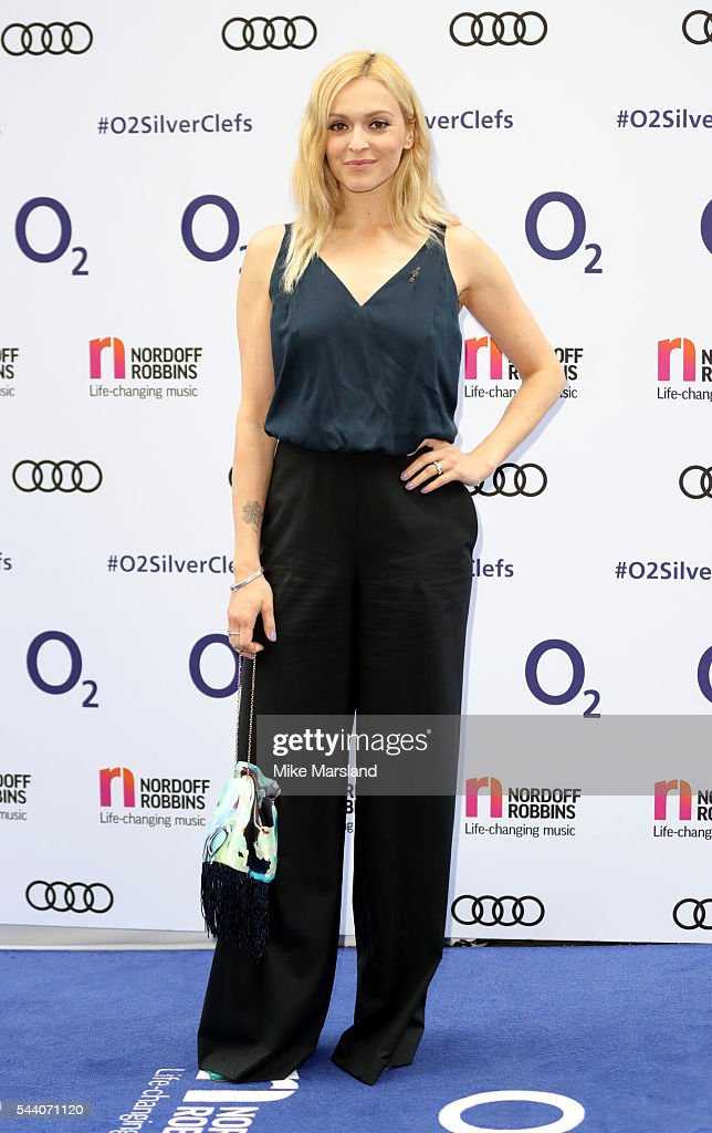 Fearne Cotton arrives for Nordoff Robbins O2 Silver Clef Awards on July 1, 2016 in London, United Kingdom.