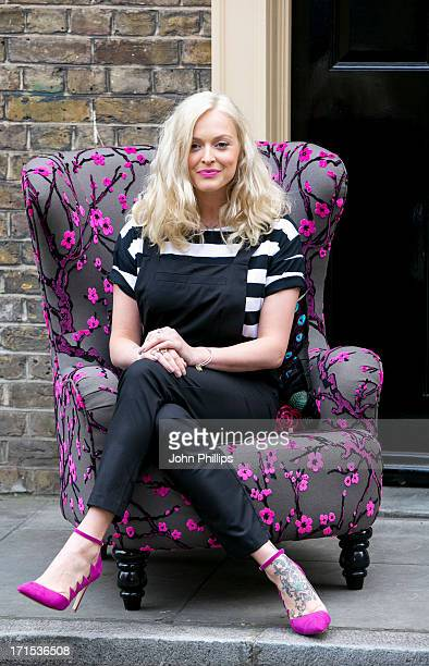 Fearne Cotton attends a photocall to launch her new homeware collection for Verycouk at Home House on June 26 2013 in London England