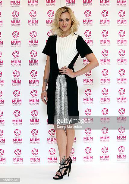 Fearne Cotton attends a photocall where she is unveiled as Ambassador for Tesco Mum Of The Year 2015 at The Savoy Hotel on August 15 2014 in London...