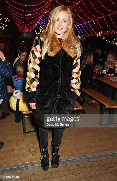 Fearne Cotton attends a VIP Preview of Hyde Park's Winter Wonderland 2016 on November 17 2016 in London United Kingdom