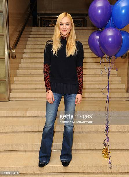 Fearne Cotton attends Book People's Bedtime Story Competition award ceremony at Clothworkers Hall on November 3 2016 in London England