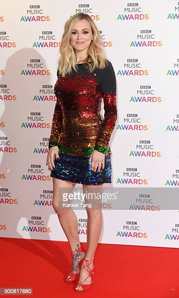 Fearne Cotton attends the BBC Music Awards at Genting Arena on December 10 2015 in Birmingham England