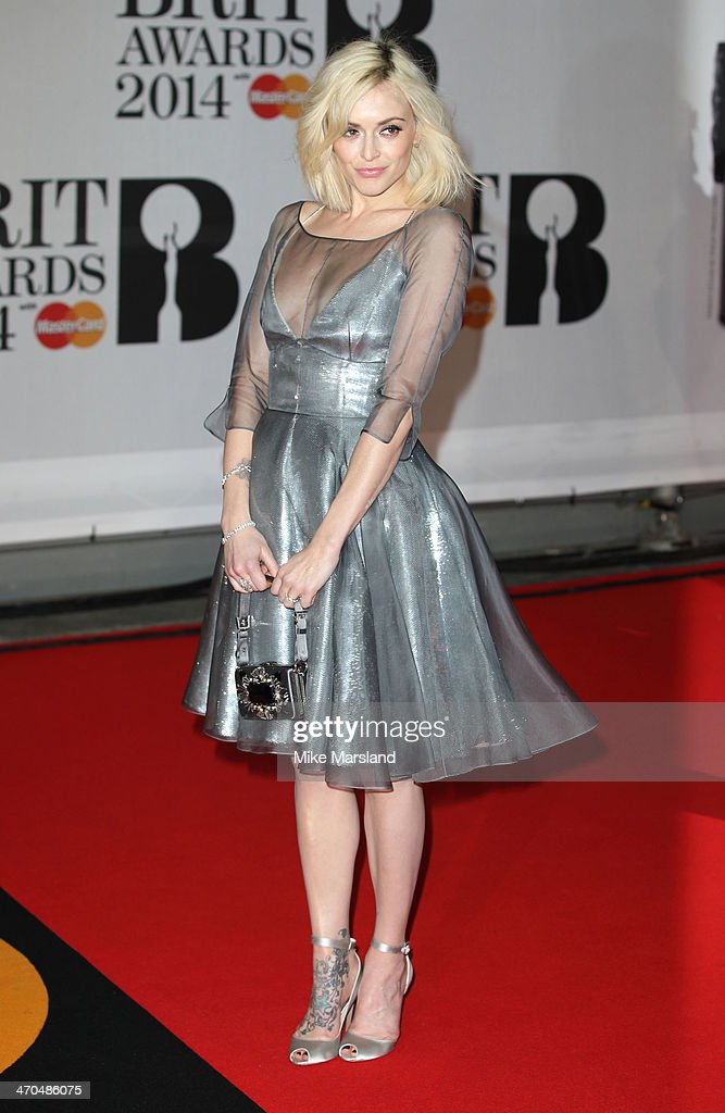 Fearne Cotton attends The BRIT Awards 2014 at 02 Arena on February 19, 2014 in London, England.