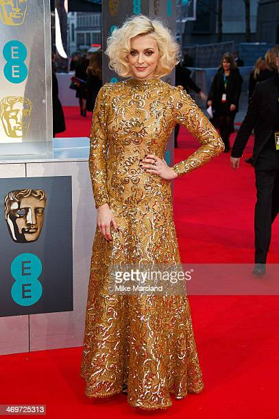Fearne Cotton attends the EE British Academy Film Awards 2014 at The Royal Opera House on February 16 2014 in London England