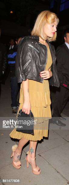Fearne Cotton attends the Midsummer Night's Dream party at The Playboy Club in London