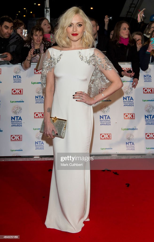 <a gi-track='captionPersonalityLinkClicked' href=/galleries/search?phrase=Fearne+Cotton&family=editorial&specificpeople=211497 ng-click='$event.stopPropagation()'>Fearne Cotton</a> attends the National Television Awards at 02 Arena on January 22, 2014 in London, England.