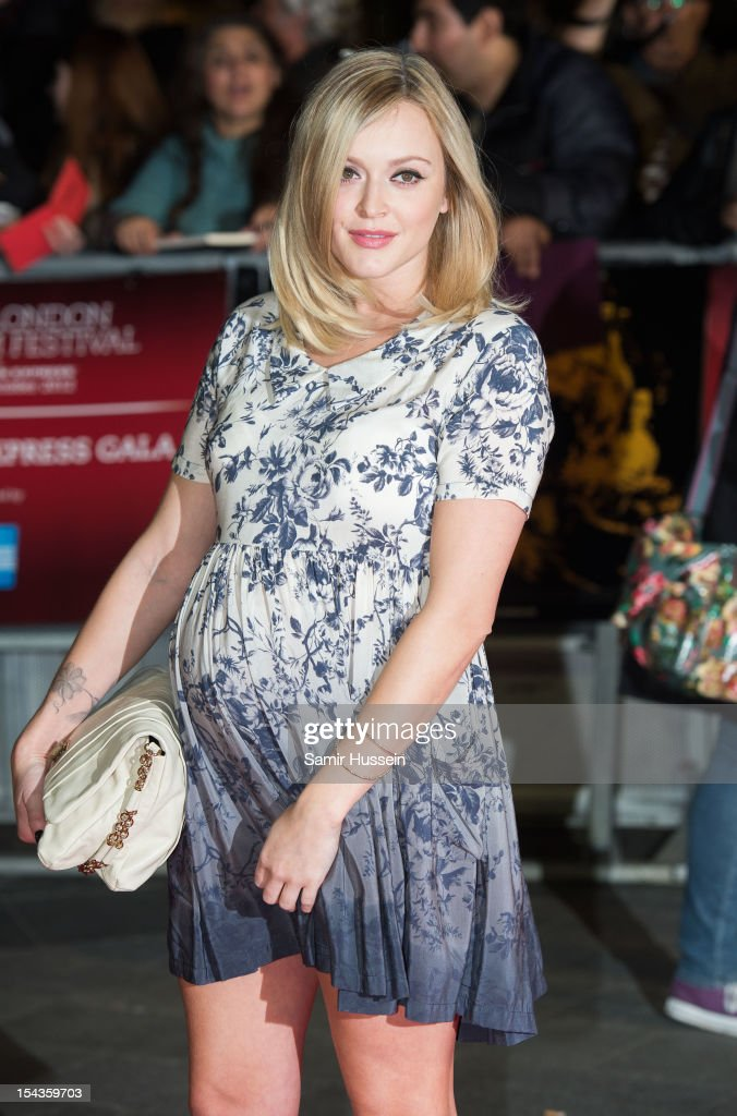 Fearne Cotton attends the Premiere of 'Crossfire Hurricane' during the 56th BFI London Film Festival at Odeon Leicester Square on October 18, 2012 in London, England.