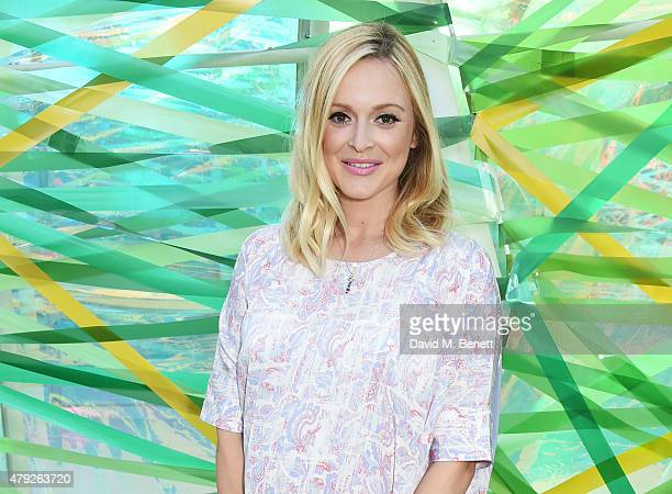 Fearne Cotton attends The Serpentine Gallery summer party at The Serpentine Gallery on July 2 2015 in London England