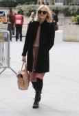 Fearne Cotton is seen on March 27 2014 in London United Kingdom