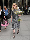 Fearne Cotton leaves BBC Radio 1 for the final time on May 22 2015 in London England
